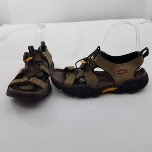 Keen Size 8.5 Womens Sarasota 5349 Brown Leather S
